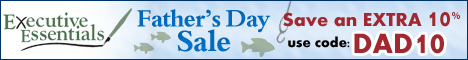 FATHER'S DAY COUPON '12- SAVE 10% USING CODE DAD10