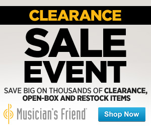 Musician's Friend Black Friday: Buy More, Save More