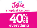 Shop Justice! 40% OFF Everything!