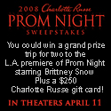 Charlotte Russe Prom Night Sweepstakes
