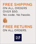 GAP ships to APO/FPO/DPO Addresses!
