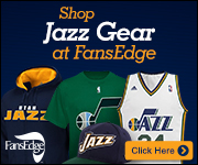 Shop the newest Utah Jazz gear at FansEdge!