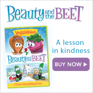 Prebuy the newest Veggie DVD: Beauty & the Beet, available October 11