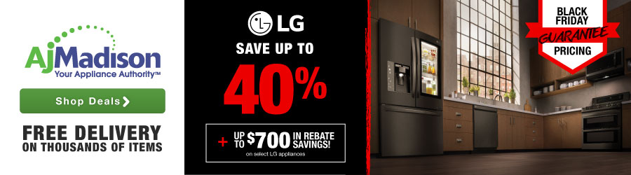 Save up to 40% LG