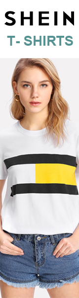 160x600 Great Deals on T-shirts!  Visit SheIn.com today!  Limited Time Offer
