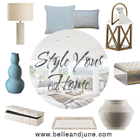 Style your home! Shop exquisite home decor, furniture, tableware and gifts at www.belleandjune.com
