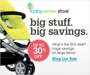 Save up to 40% at BabyCenter Store