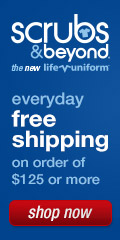 Free Shipping Everyday at Scrubs & Beyond
