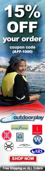 Outdoorplay.com - Free Kayak Shipping