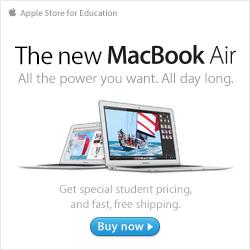 Apple Macbook Air - get Apple education pricing