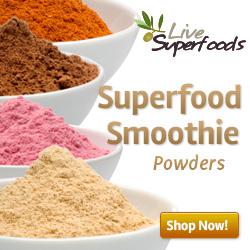 Raw Organic Superfood Smoothie Powders