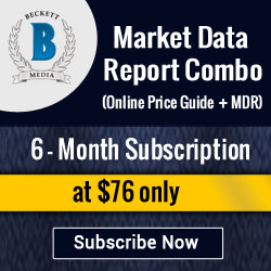 Image for Save 20% on 6 Months Market Data Report Combo Subscription (Online Price Guide +MDR) .Special Price: $76