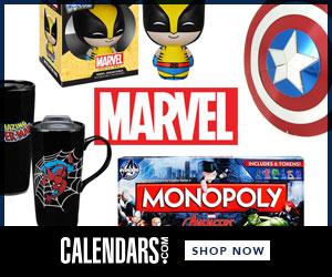 Shop Marvel Comics at Calendars.com Now!