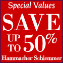 Special values at Hammacher