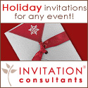 Holiday Invitations by InvitationConsultants.com