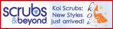 Koi Scrubs at Scrubs & Beyond