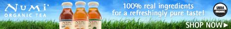 Enjoy the Pure Refreshment of Numi Bottled Teas