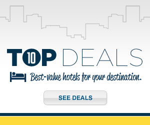 Expedia's 10 Top Deals