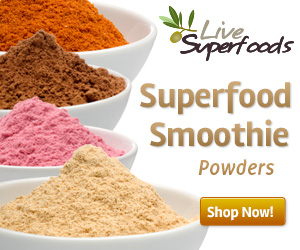 Raw Organic Superfood Smoothie Powders