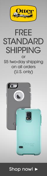 OtterBox.com: 160x600 Free Shipping