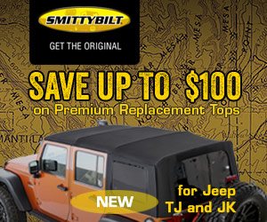 Premium Replacement Tops for your Jeep starting