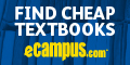 Save 90% on textbooks from eCampus.com