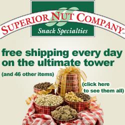 Gourmet Nut & Chocolate Gift Baskets