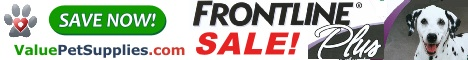 Frontline Plus Sale at ValuePetSupplies-468x60