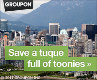 Up to 90% off fun all over Canada!
