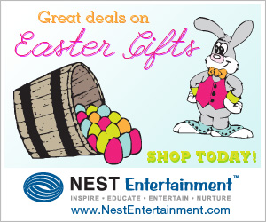 Easter Gifts from NestEntertainment.com