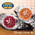 Free Overnight Shipping from Fossil