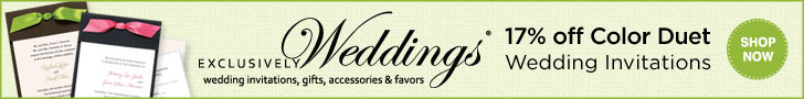 Spring Invitation Sale - 17% off Color Duet Weddin