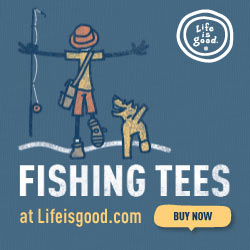 Life is good Fishing Tee Shirt Banners_200x200