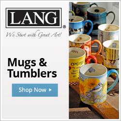 Shop LANG Coffee Mugs, Tumblers & More!