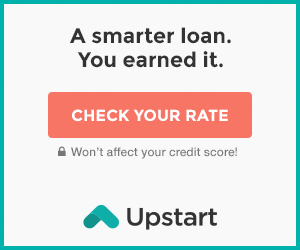 Check your rate on Upstart.com