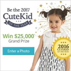 Be the 2017 CuteKid Winner!