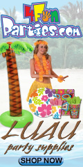 Luau Party Goods - Shop Today!