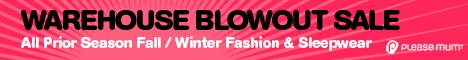 Warehouse Blowout Sale