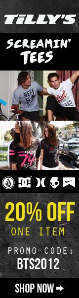 T-Shirts 20% Off 1 Item Code BTS2012