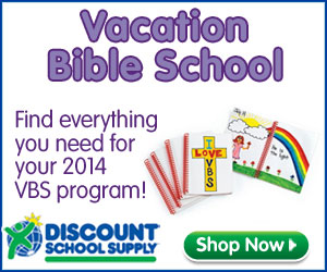 Save on Vacation Bible School Supplies