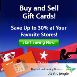 Sell your unwanted gift cards at PlasticJungle.com