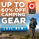 Up to 60% Off Camping Gear at o2 Gear Shop!
