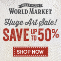 Huge Art Sale at World Market
