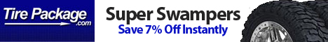 7% Off Super Swamper Tires