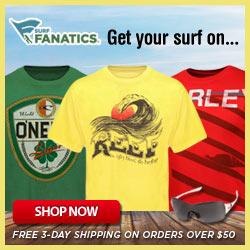 SurfFanatics, Free 3 Day Shipping!