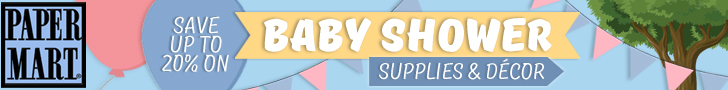 PaperMart_Save up to 20% on Baby Shower Supplies and Decor!