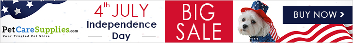 Big Offers for our Fourth of July Sale at PetCareSupplie.com