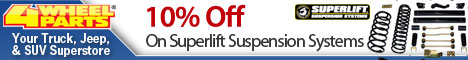 Superlift – 10% Off Superlift Suspension Systems