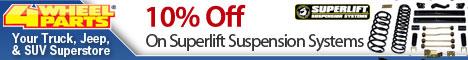 Superlift – 10% Off Superlift Suspension Systems