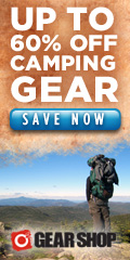 Save Up to 60% on Camping Gear at o2 Gear Shop!